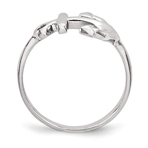 anillos anillo de plata 925 con pulido tamaño
