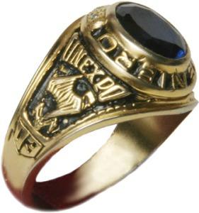 anillos aros de graduación grado caballero hombre 10x12