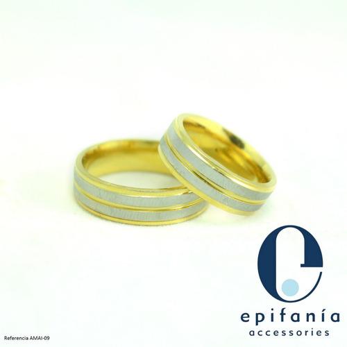 anillos aros de matrimonio compromiso acero 1era parte