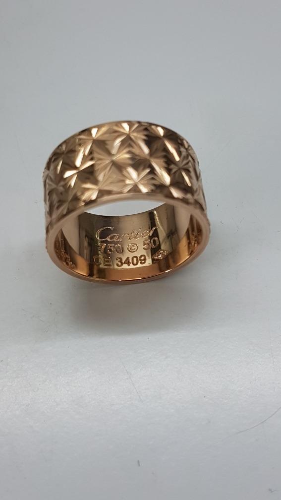d732a3bbb4f3 Anillos Cartier Oro 18k Ley 750 - 20 Gr