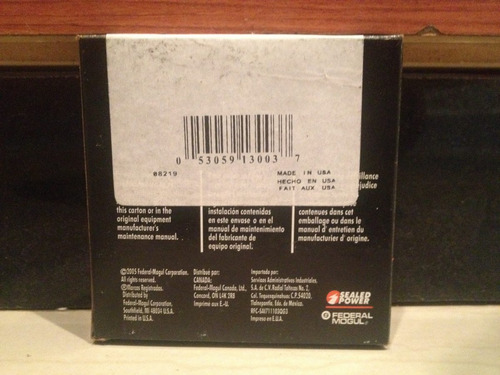 anillos cavalier z-24 sunfire gt 2.4 a 030 sealed power