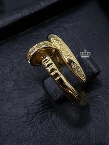 14ec14b1df3c Anillos Clavos Cartier Oro 18k Italiano Ley 750