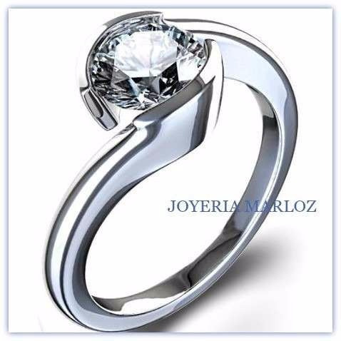 cc33636160f8 Anillos Compromiso Diamante Natural .30ct (puntos) 14kt ...