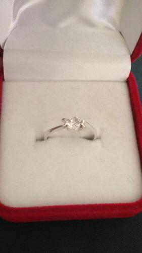 anillos compromiso! plata con oro elegantes garantizados