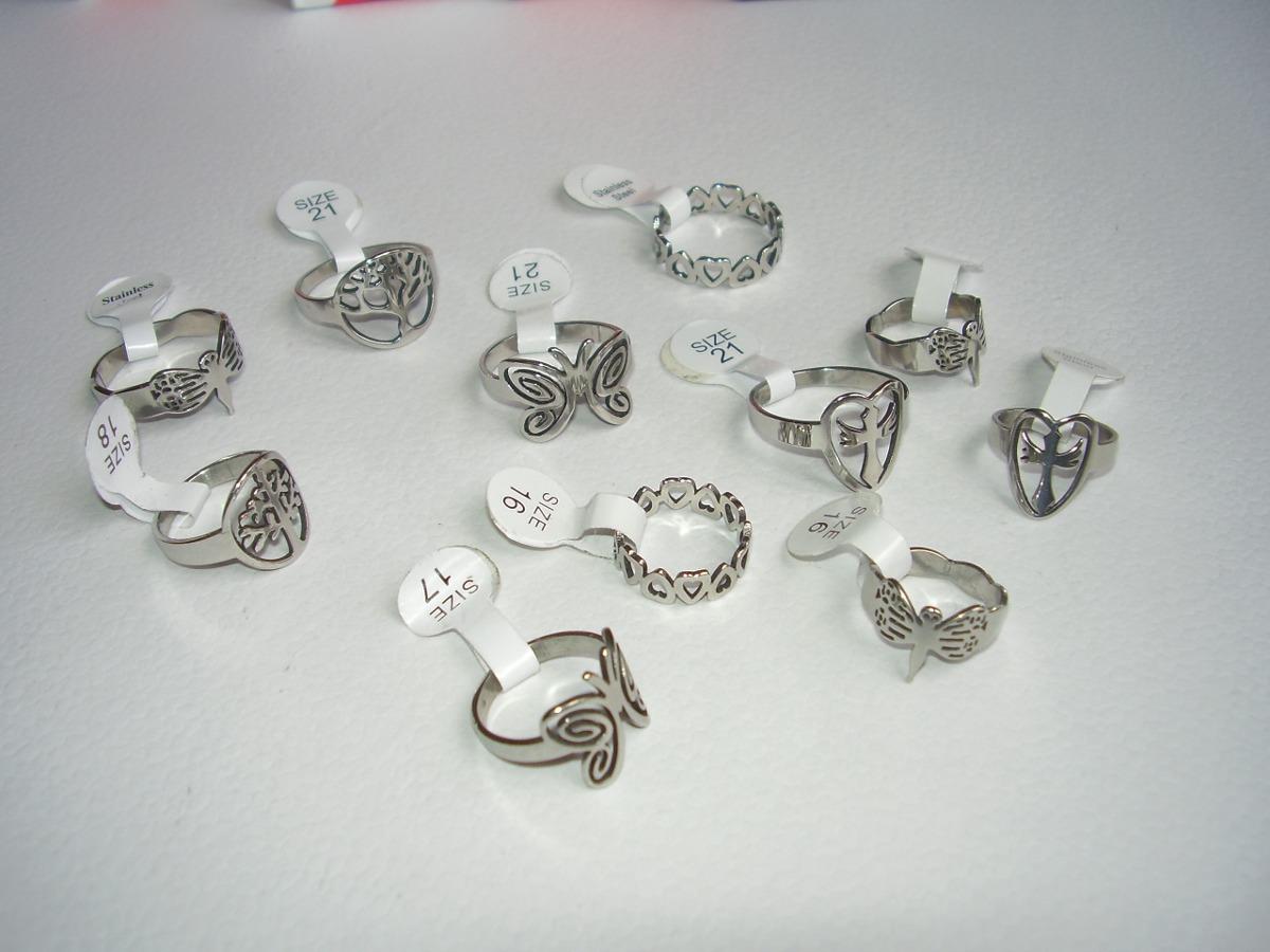 anillos de acero quirúrgico exclusivos lote 10 oportunidad! Cargando zoom. 723c5f18f3e