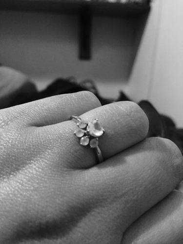 anillos de compromiso anillos plata promesa boda garra gato
