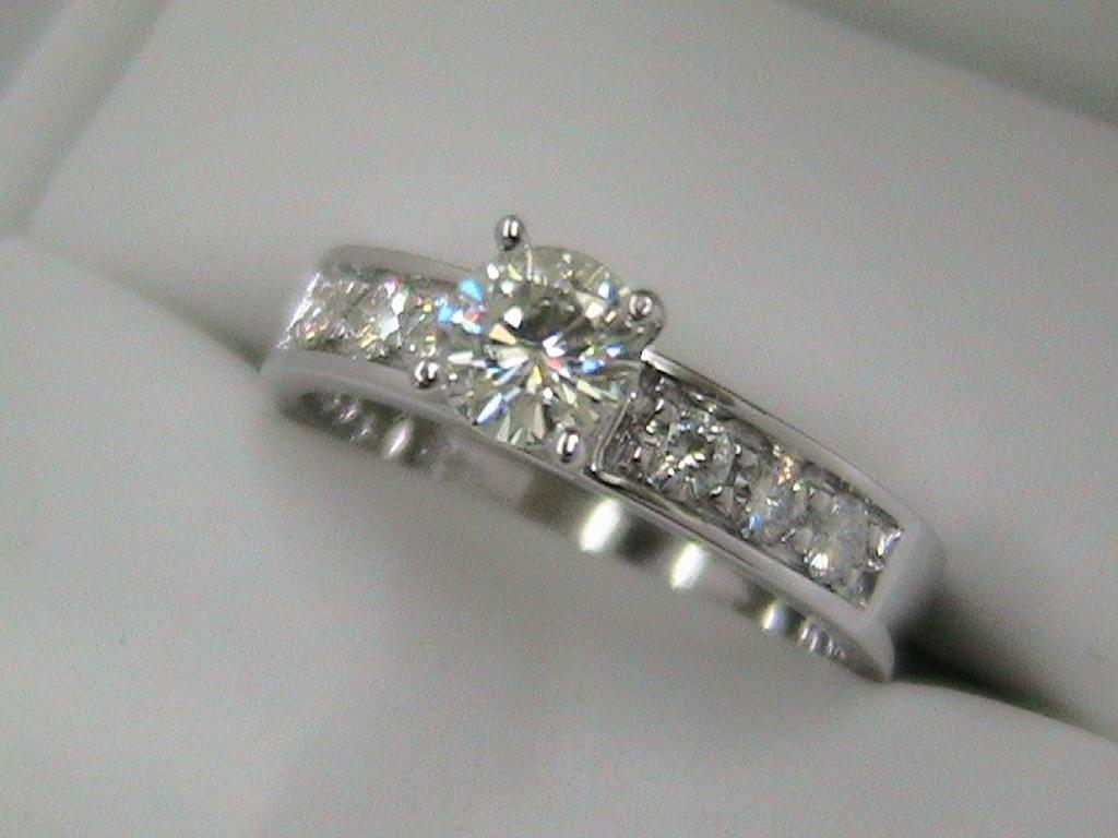 anillos de compromiso de plata ley .925 modelo rose - $ 857.67 en