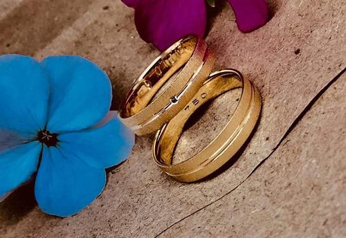 anillos de compromiso y matrimonio
