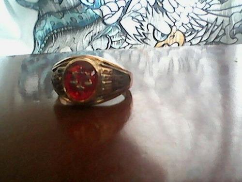 anillos de grado derecho ucv (acero laminado)