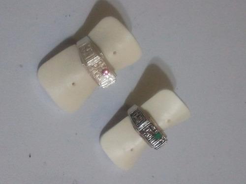 anillos de graduacion sexto grado 6to en plata ley 925