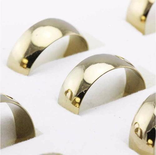 anillos de matrimonio con baño en oro 18k bodas compromiso