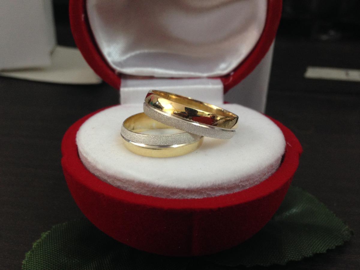 Anillos de matrimonio de plata 925 con ba o de oro bs - Bano de oro precio ...