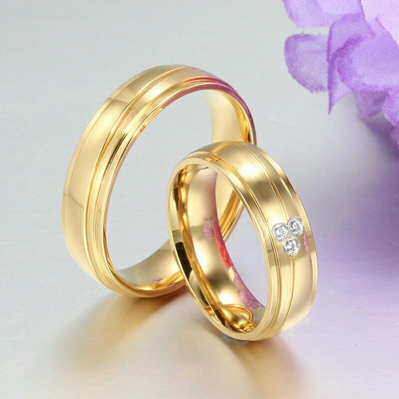 Venta de anillos de matrimonio de oro