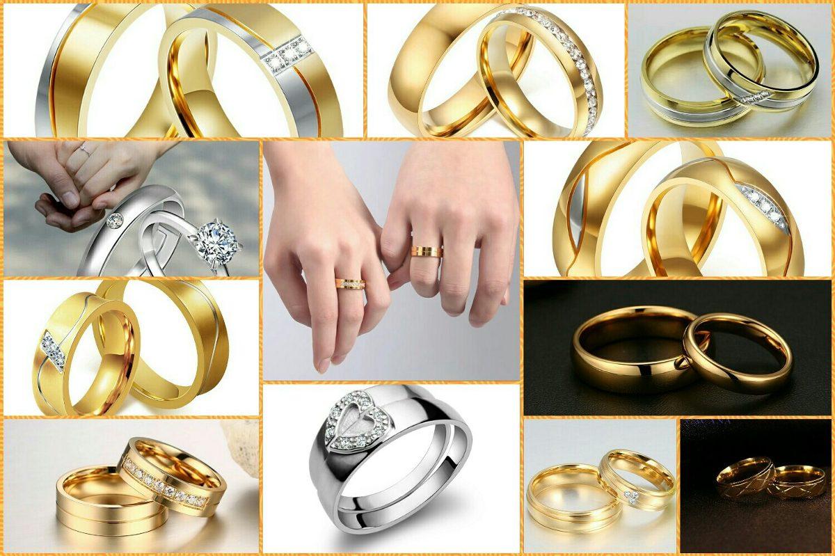 1186e7c42127 anillos de matrimonio oro 18k y plata aros amor boda navidad. Cargando zoom.