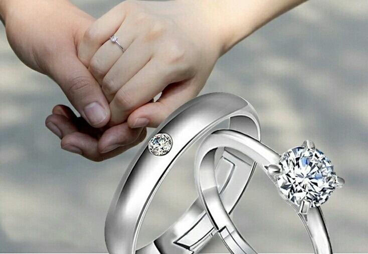 7376099dc4f6 Anillos De Matrimonio Oro 18k Y Plata Aros Amor Boda Navidad - S ...