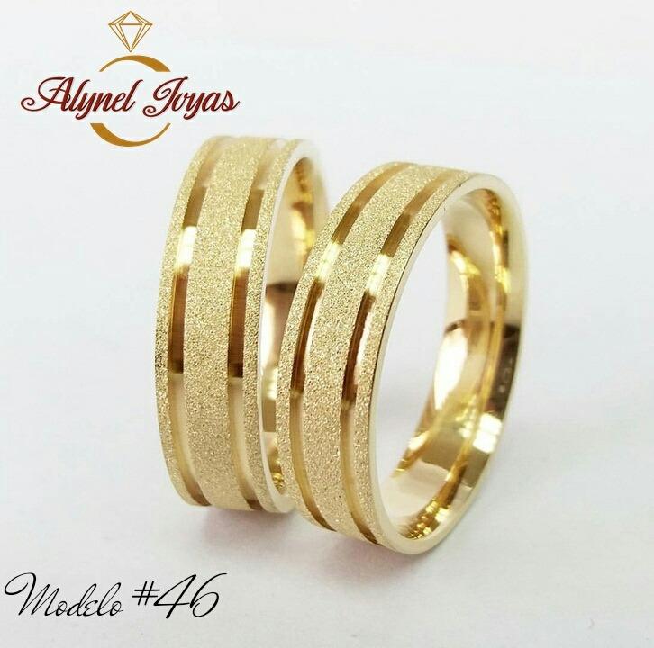 Anillos de matrimonio plata con bano de oro 24kts for Plata con bano de oro