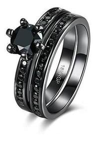 reloj 66928 6bbdf Anillos De Obsidiana De Pareja Para Las Mujeres