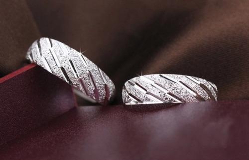 anillos de parejas2 anillos ajustables estuche envio gratis