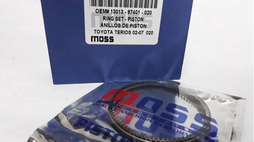 anillos de piston terios 02-07 020-030-040-std