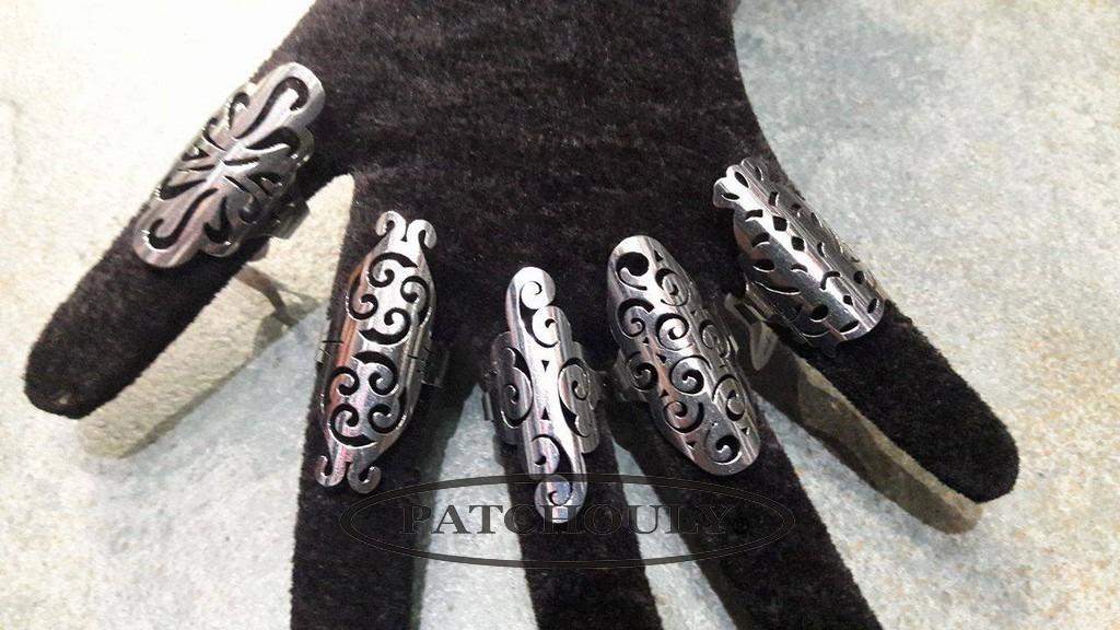 e47729a7ad0d anillos largos de acero quirurgico mujer. Cargando zoom.