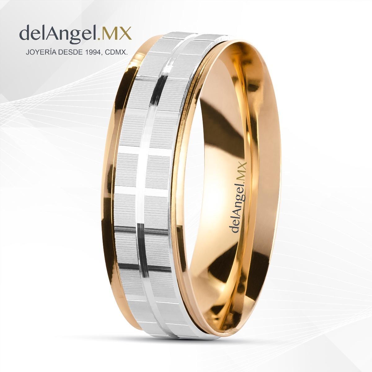 04b91a872d6a anillos matrimonio giratorio oro 14k 6mm 80745. Cargando zoom.