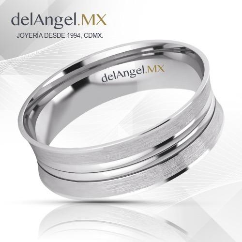 ca44431174f7 Anillos Matrimonio Oro 14k Comfort Flat 6mm 13686-146 -   2