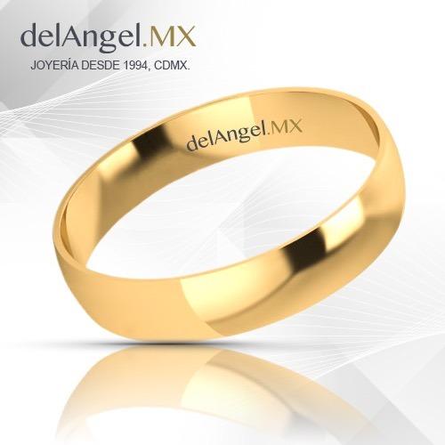 736f6ed2e214 Anillos Matrimonio Oro 14k Comfort Light 4mm 13432-144 -   2