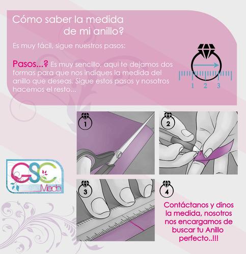anillos midi ring tendencia accesorios femeninos moda 257gs