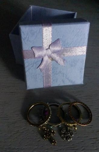 anillos modernos en promoción