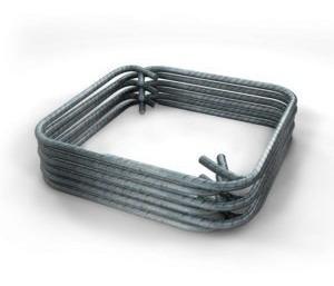 anillos o estribos de alambrón 10*10cm pieza (no. 2 o 1/4 )