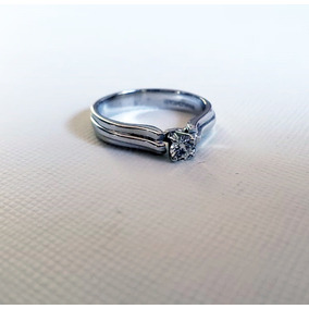 69a30953e3af Anillo De Compromiso Oro 14k Diamante Natural .13 Qts - Anillos Oro ...