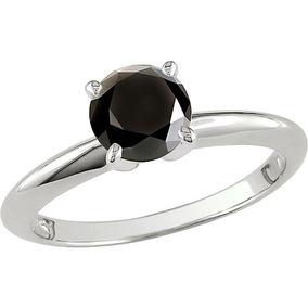 4183f4c88b8f Anillo De Compromiso Oro 14k Diamante Negro 1.70 Cts
