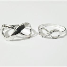 2d85982aea49 Anillos De Matrimonio Con Infinito Y Grabado - Joyería en Mercado ...