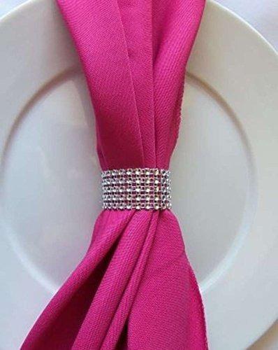 anillos para servilletas,conjunto de 10 bling anillos de..