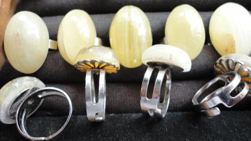 anillos piedra onix san luis envio grats