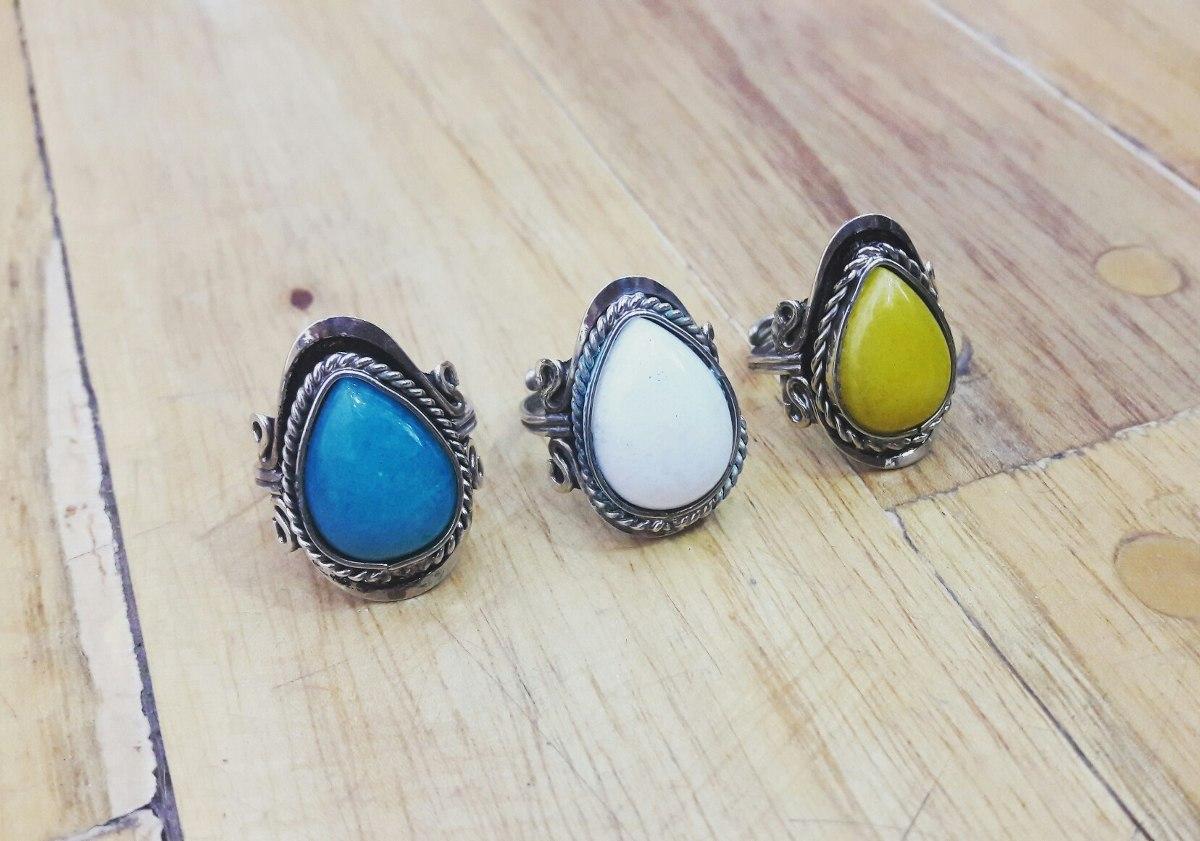 9ce6d6041f7ff anillos piedras alpaca regulables por mayor 12 unidades. Cargando zoom.