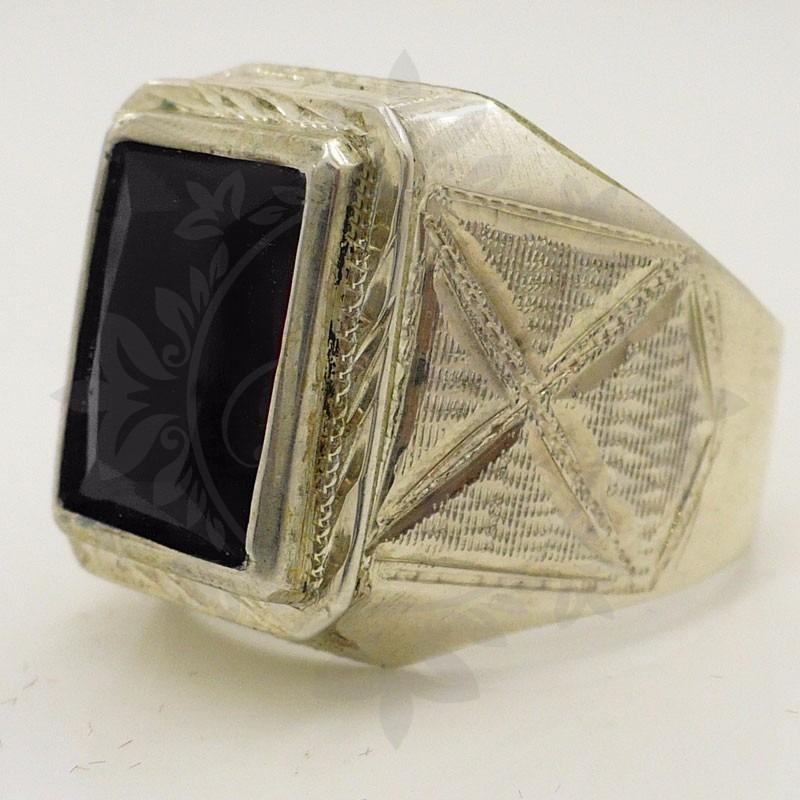dc5cd9026925 anillos plata 925 sello hombre con piedra cubic onix regalo. Cargando zoom.