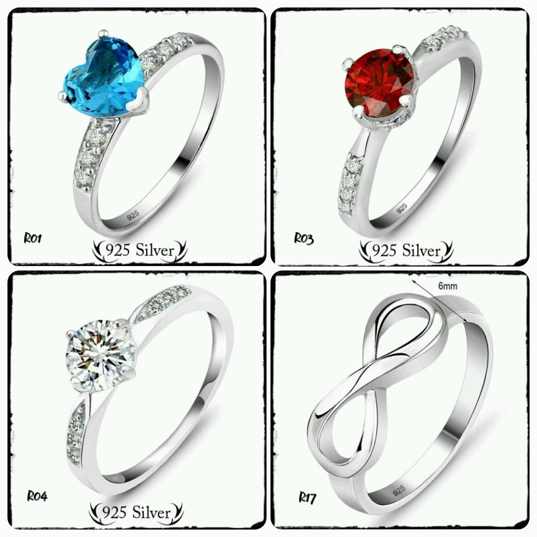 6628983078ed anillos plata 925 sterling silver precio por mayor. Cargando zoom.