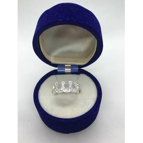 2d167da97992 Anillo De Princesa Diamantado Con Swarovski Plata Fina .925