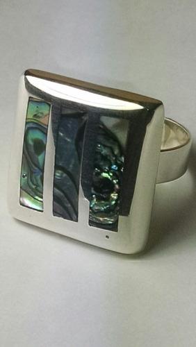 anillos plata variadas piedras las condes