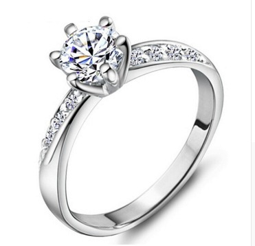 7d28ac309b20 anillos dama moda tipo compromiso platino zirconia mayoreo · anillos  platino zirconia