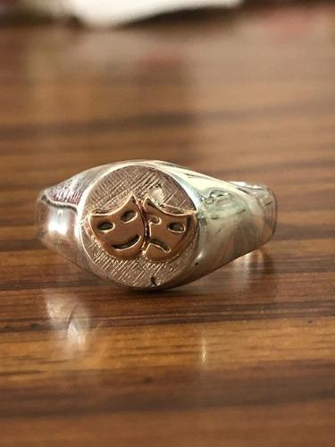 anillos profesionales plata & oro hechos a medida