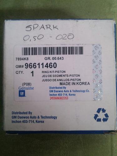 anillos spark std 010 020 030 gm original