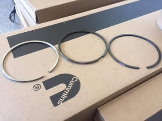 anillos std para cummins 4bt / 6bt n° 3802421 piston rings