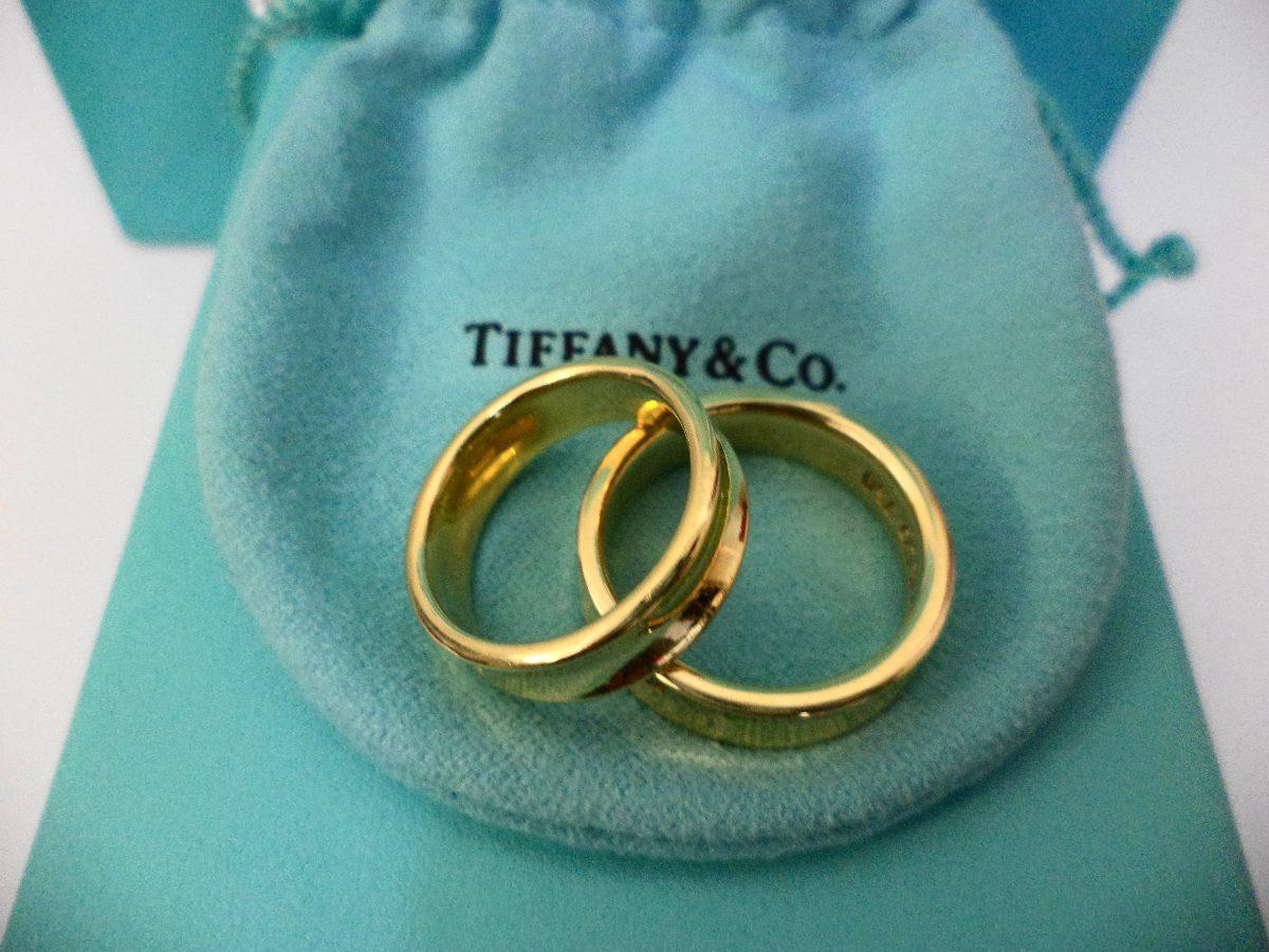 9baf46f21017 Anillos Tiffany   Co. Coleccion 1837 Oro 750 18k. -   15