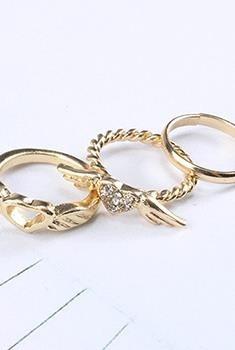 anillos variados (midi, para pie, sets)
