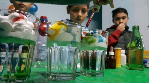 animación ciencia  cumpleaños cientificos funciones escuelas