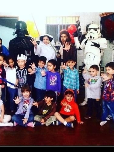 animacion cumpleaños infantiles show star wars spiderman