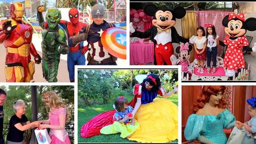 animacion cumpleaños online video saludos iron man princesas