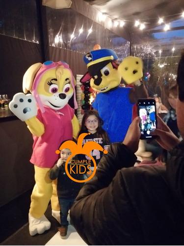 animación de cumpleaños con paw patrol en chillán y alrededo